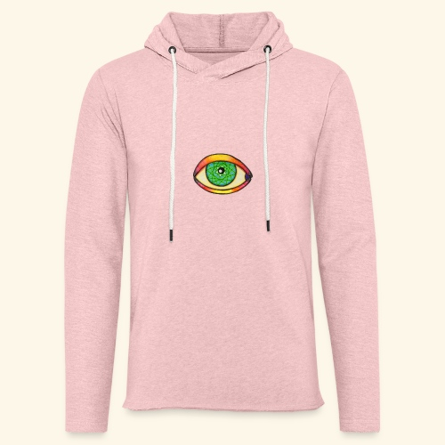 Oeil étoile 2 - Sweat-shirt à capuche léger unisexe