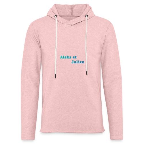 Notre logo - Sweat-shirt à capuche léger unisexe