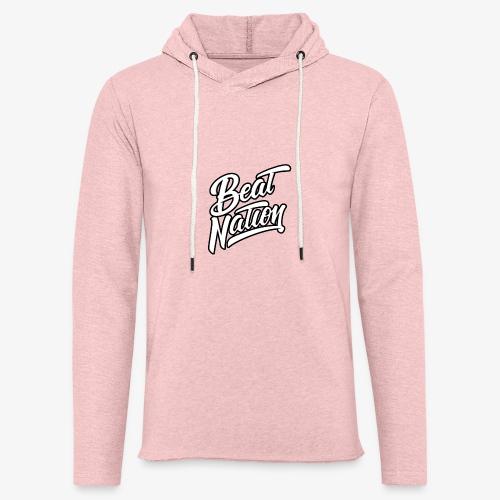 Logo Officiel Beat Nation Blanc - Leichtes Kapuzensweatshirt Unisex