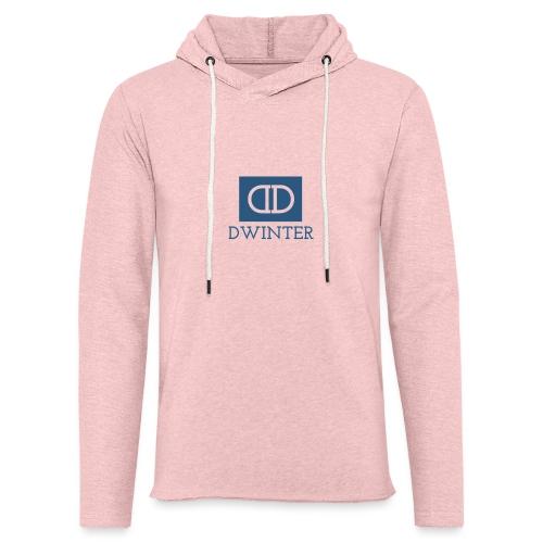 DWINTER - Sudadera ligera unisex con capucha