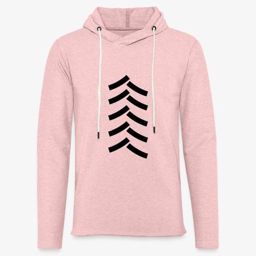 tractor spoor, bandenspoor - Lichte hoodie unisex