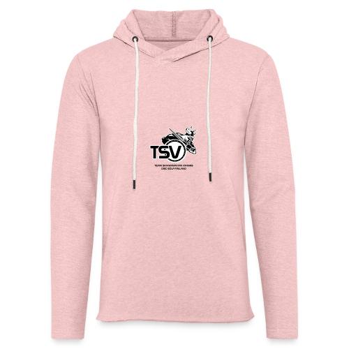 TSV logo koko musta - Kevyt unisex-huppari