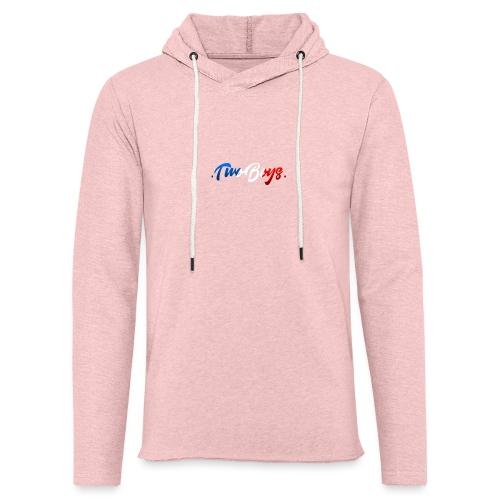 TwoBoys version France - Sweat-shirt à capuche léger unisexe