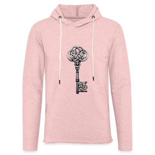 CHAVE-celtic-key-png - Sudadera ligera unisex con capucha