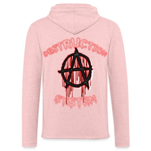 anarchy - Sweat-shirt à capuche léger unisexe