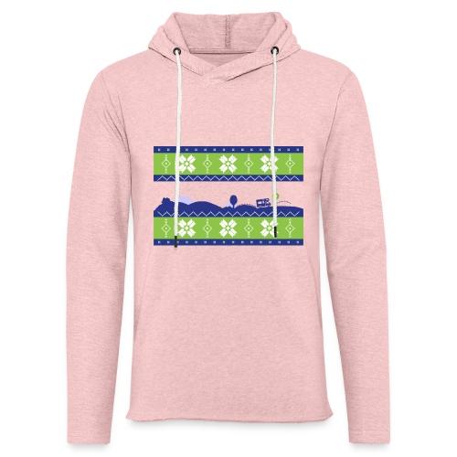 Pull de Noël - Sweat-shirt à capuche léger unisexe