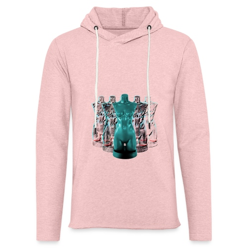 Lady Rosso Corsa and Her Dancers (turquoise) - Let sweatshirt med hætte, unisex