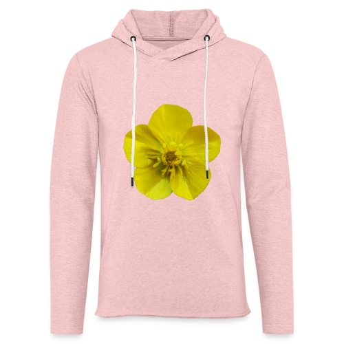 TIAN GREEN Garten - Hahnenfuß 2020 01 - Leichtes Kapuzensweatshirt Unisex
