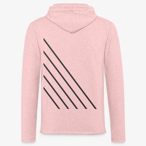 STRIPED - Let sweatshirt med hætte, unisex