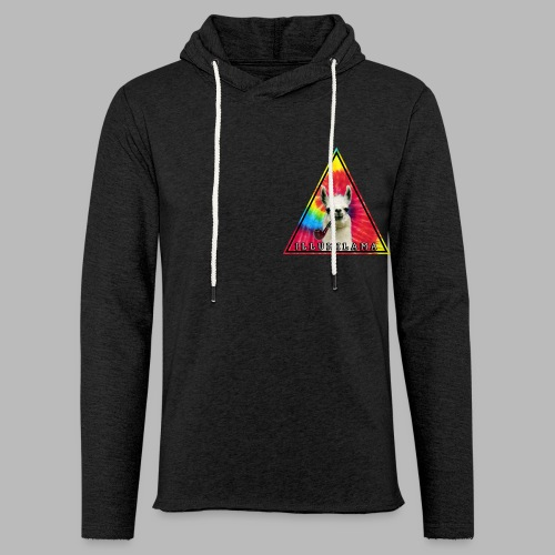 Illumilama logo T-shirt - Light Unisex Sweatshirt Hoodie