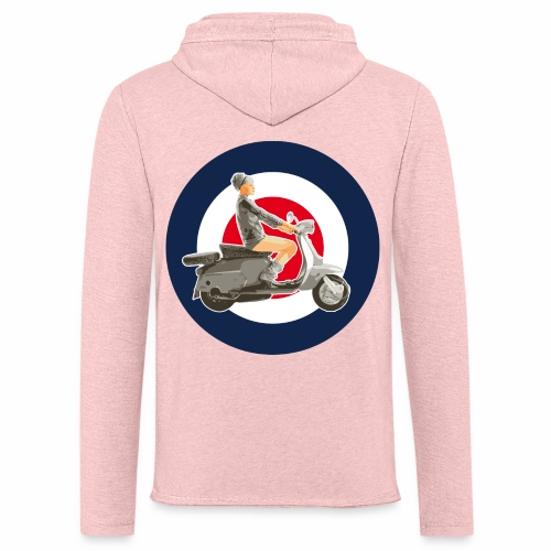 Scooter girl - Sweat-shirt à capuche léger unisexe