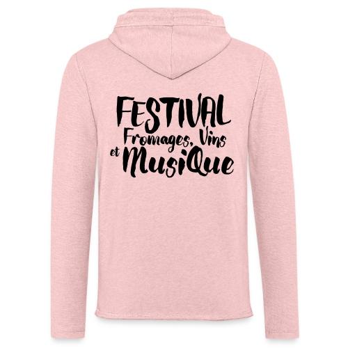 Festival FVM - Sweat-shirt à capuche léger unisexe