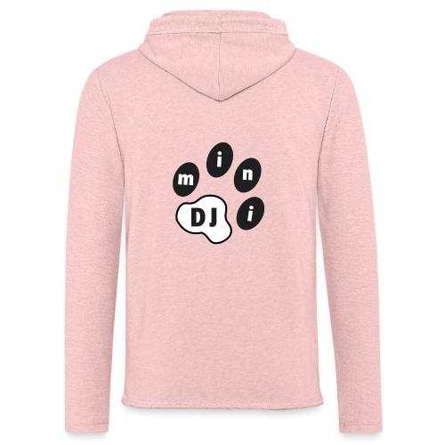 DJMini Logo - Let sweatshirt med hætte, unisex