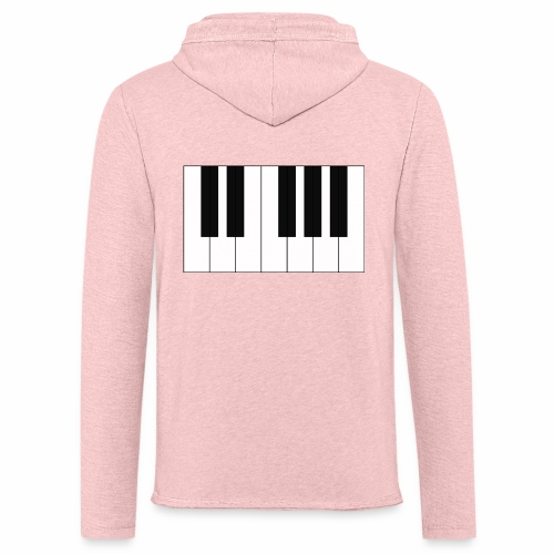 Piano - Light Unisex Sweatshirt Hoodie