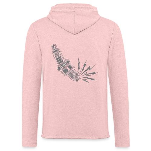 Fehlzünder Kontrast-Pullover - Leichtes Kapuzensweatshirt Unisex