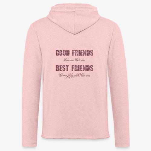 Design Best Friends / Beste Vrienden - Lichte hoodie unisex