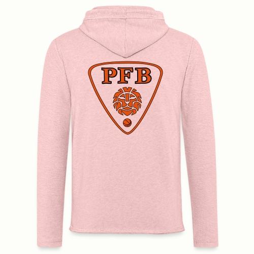 NEW LOGO PFB Couleur - Sweat-shirt à capuche léger unisexe