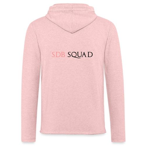 SDB SQUAD - Felpa con cappuccio leggera unisex