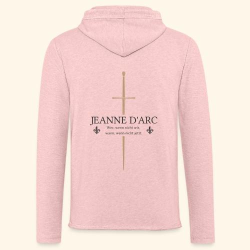 Jeanne d arc dark - Leichtes Kapuzensweatshirt Unisex