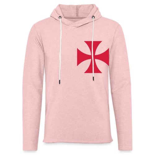 The Templar Cross Shirt - Leichtes Kapuzensweatshirt Unisex