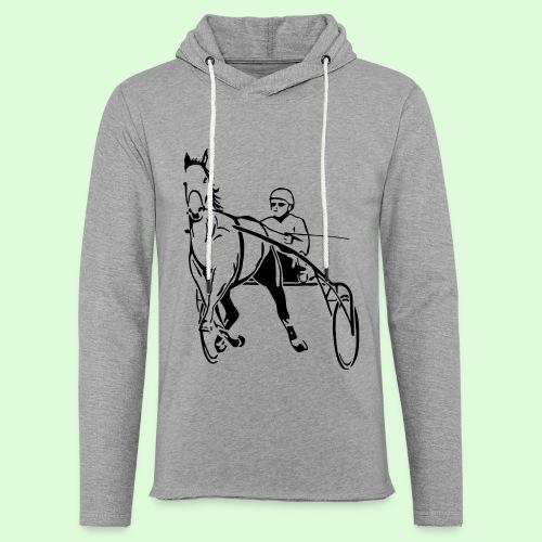 Les Trotteurs - Sweat-shirt à capuche léger unisexe