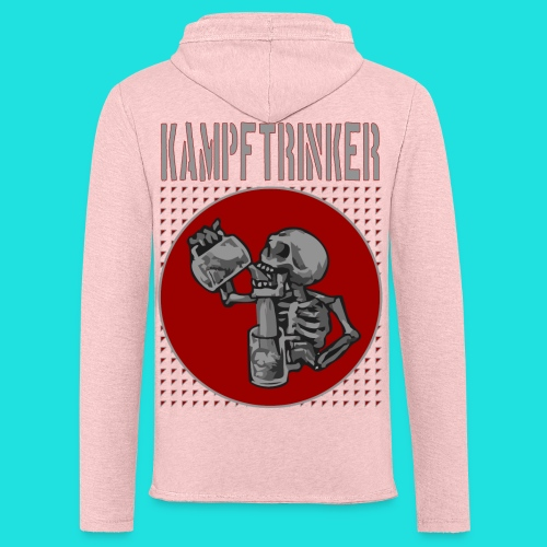 Kampftrinker - Leichtes Kapuzensweatshirt Unisex