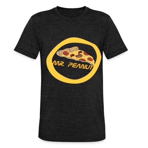 mr. peanut logo - Unisex Tri-Blend T-Shirt von Bella + Canvas