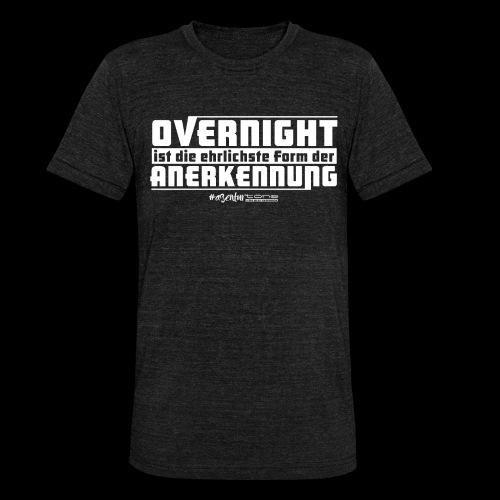 Overnight - Unisex Tri-Blend T-Shirt von Bella + Canvas