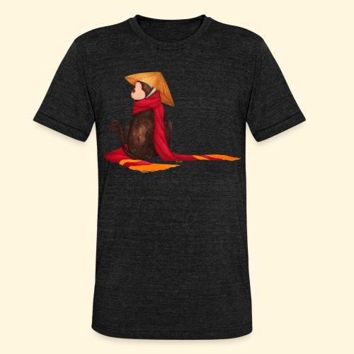 Un singe en hiver - T-shirt chiné Bella + Canvas Unisexe