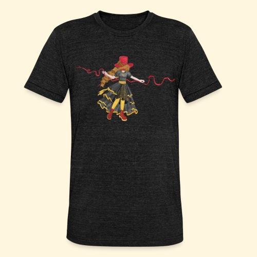 Ladybird - La célèbre uchronaute - T-shirt chiné Bella + Canvas Unisexe