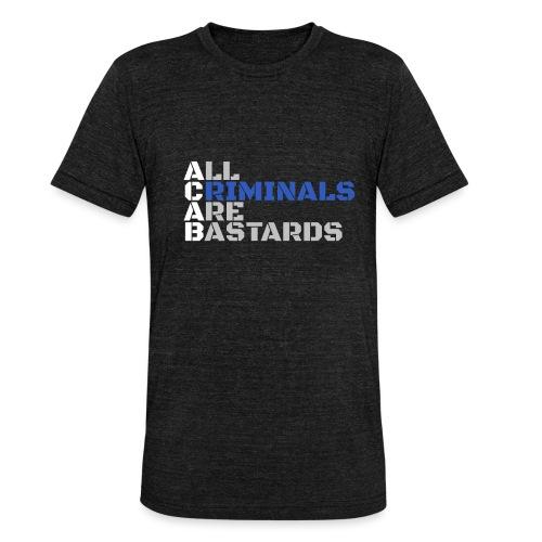 ACAB Citation - T-shirt chiné Bella + Canvas Unisexe