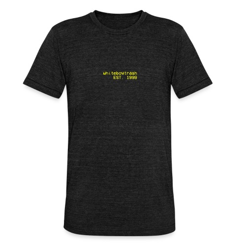 19999 - Unisex tri-blend T-skjorte fra Bella + Canvas