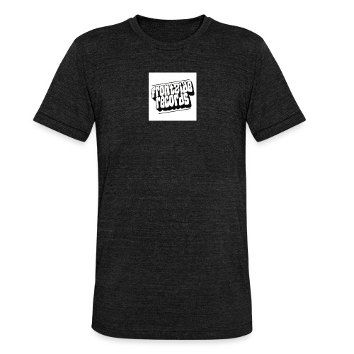 newfrontzidelogo - Unisex tri-blend T-shirt fra Bella + Canvas