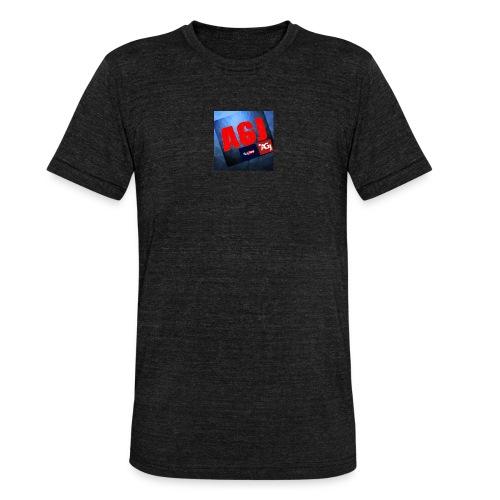 AGJ Nieuw logo design - Unisex tri-blend T-shirt van Bella + Canvas