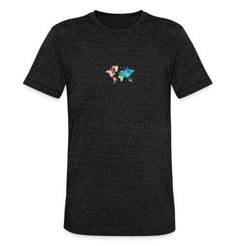 World Love - T-shirt chiné Bella + Canvas Unisexe