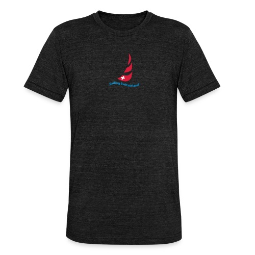 logo sailing switzerland - Unisex Tri-Blend T-Shirt von Bella + Canvas