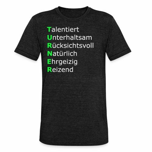 Turner - Unisex Tri-Blend T-Shirt von Bella + Canvas