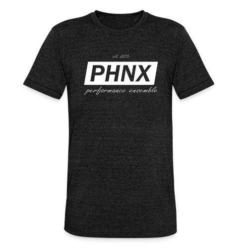 PHNX /#white/ - Unisex Tri-Blend T-Shirt von Bella + Canvas