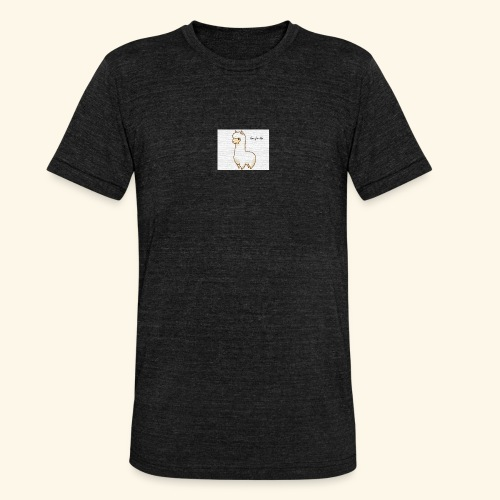 lama / alpaca - Unisex Tri-Blend T-Shirt von Bella + Canvas