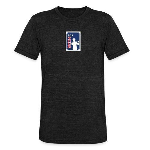 pgatuur kikkis logo - Bella + Canvasin unisex Tri-Blend t-paita.
