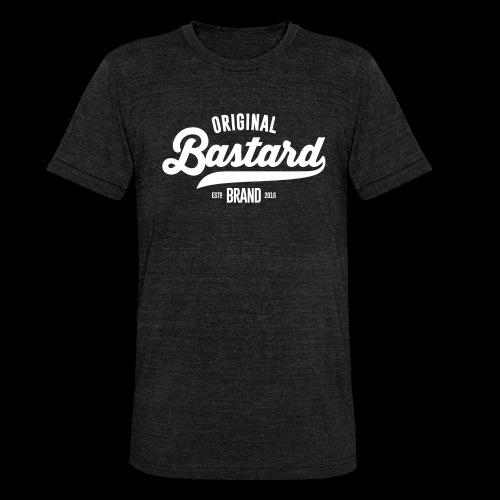 Bastard - T-shirt chiné Bella + Canvas Unisexe