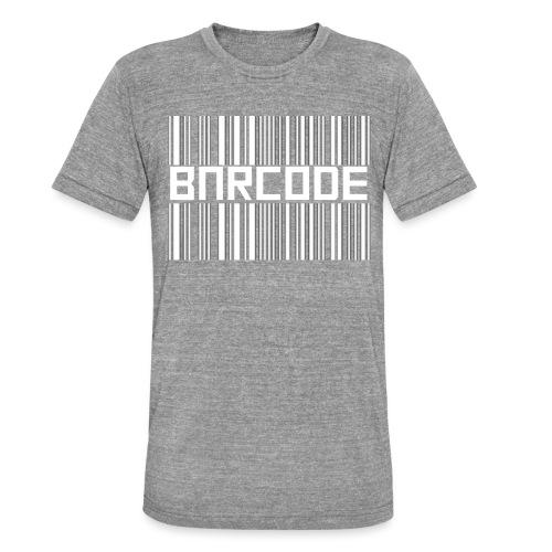 BARCODE BLACK - Unisex Tri-Blend T-Shirt by Bella + Canvas