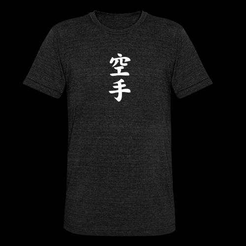 karate - Koszulka Bella + Canvas triblend – typu unisex