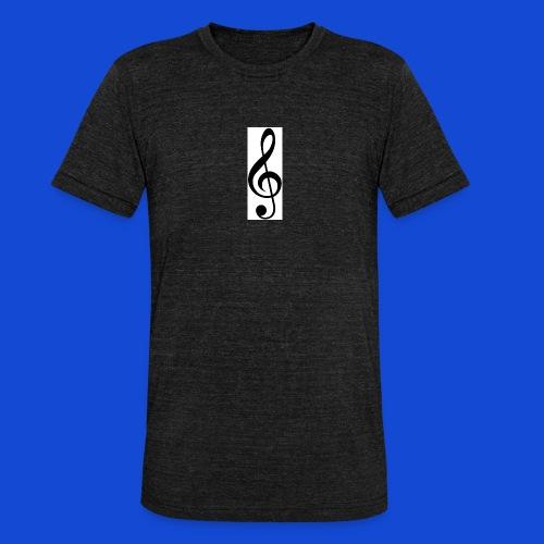 musical - Camiseta Tri-Blend unisex de Bella + Canvas