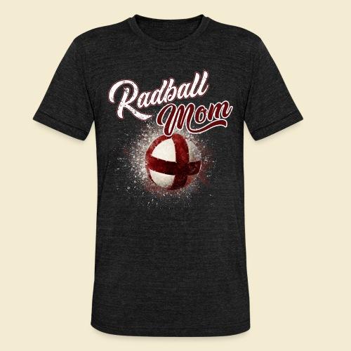 Radball Mom - Unisex Tri-Blend T-Shirt von Bella + Canvas