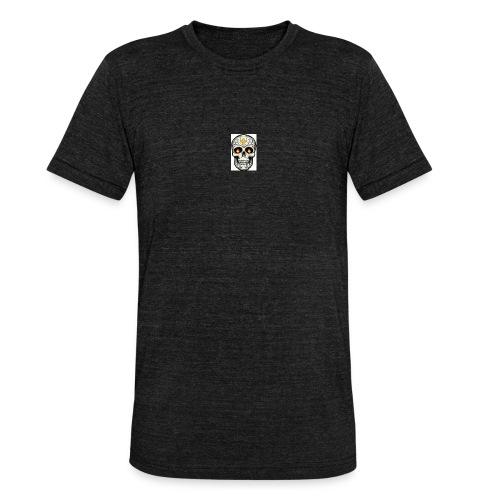 tete de mort - T-shirt chiné Bella + Canvas Unisexe