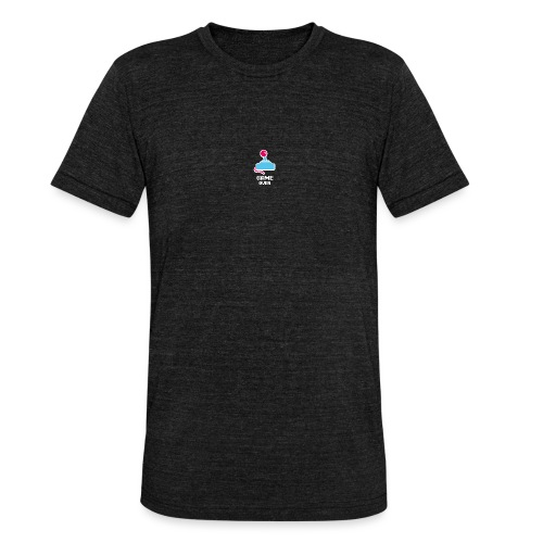 GameoverLogotekst - Unisex tri-blend T-shirt van Bella + Canvas