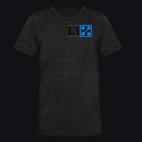 LIZ Before the Plague (Logo) - Maglietta unisex tri-blend di Bella + Canvas