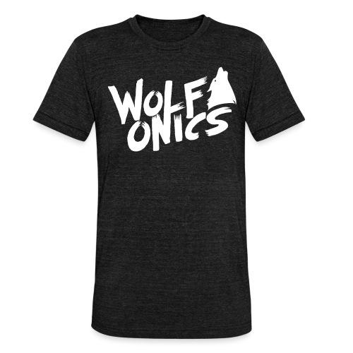 Wolfonics - Unisex Tri-Blend T-Shirt von Bella + Canvas