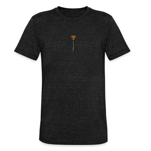 flower - Unisex Tri-Blend T-Shirt von Bella + Canvas